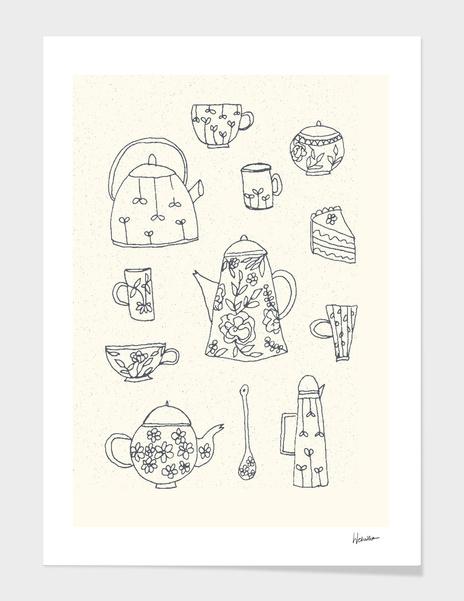 Dishes main illustration