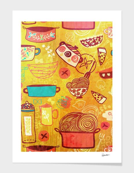 Pasta main illustration