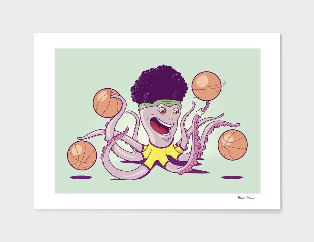 Basketball Octopus