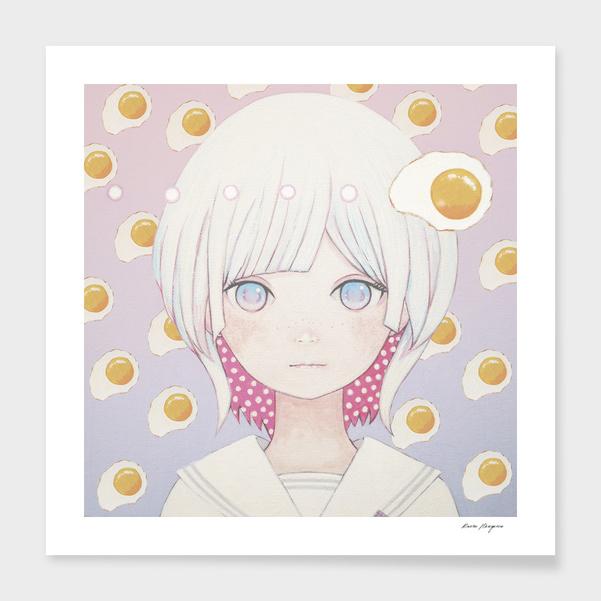 「Silence egg-san たまご増やした場合🍳」 main illustration
