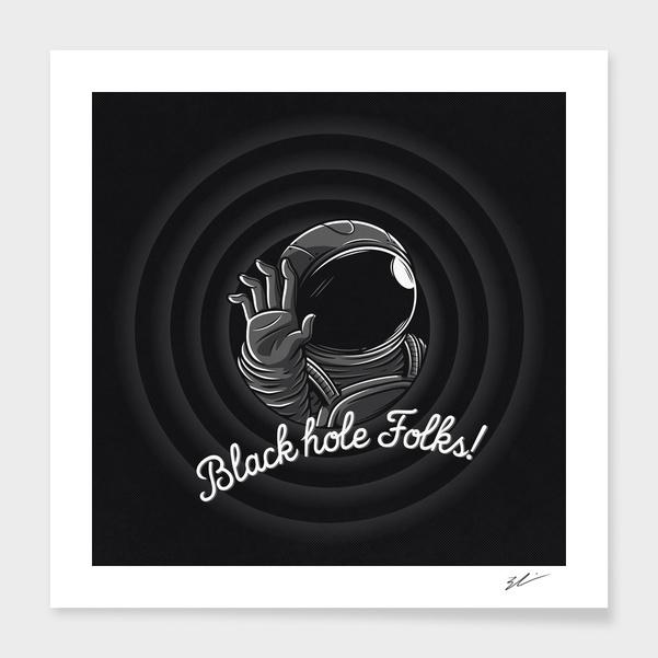 Black hole folks! main illustration