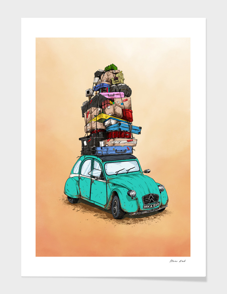2CV Holiday main illustration