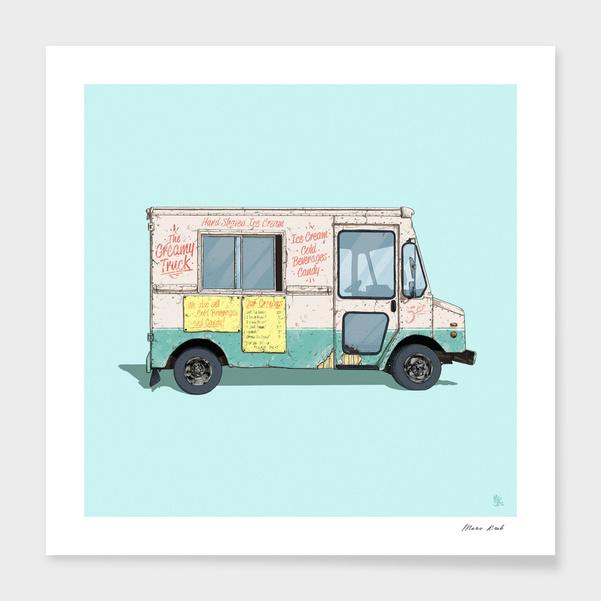 The Creamy Truck main illustration