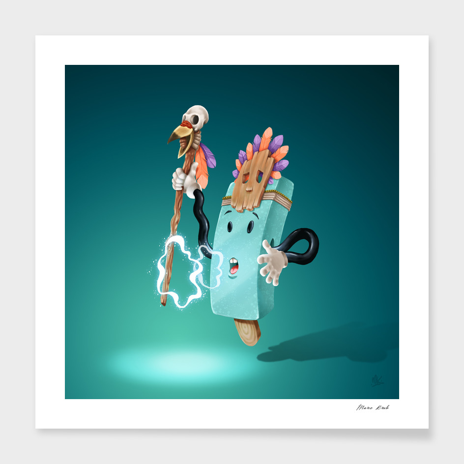 Icey Shaman main illustration