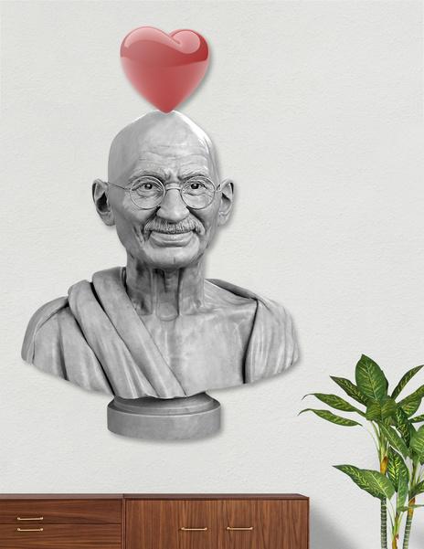LOVE GHANDI main illustration