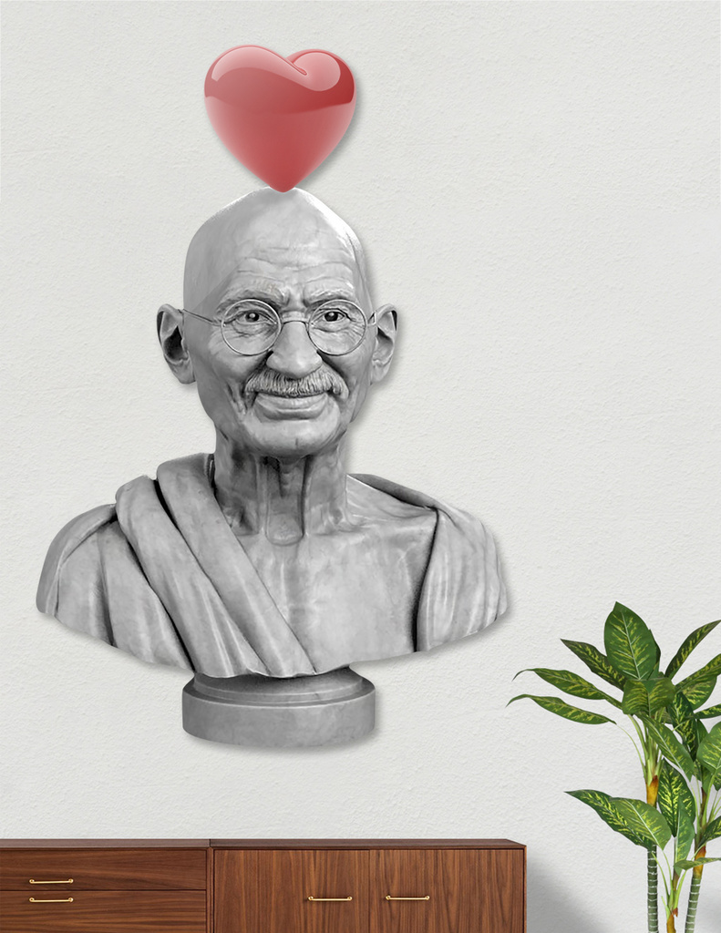 LOVE GHANDI main illustration