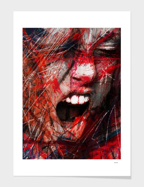 Scream main illustration
