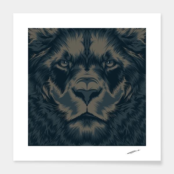 Lion main illustration