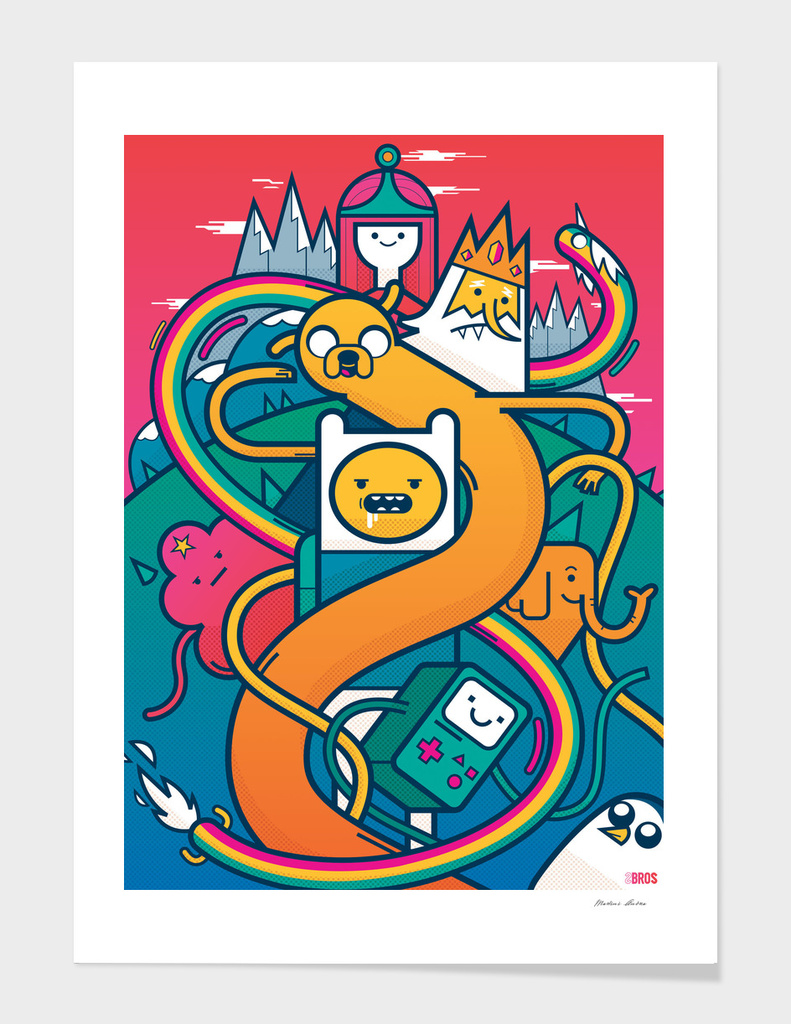 Adventure Time main illustration