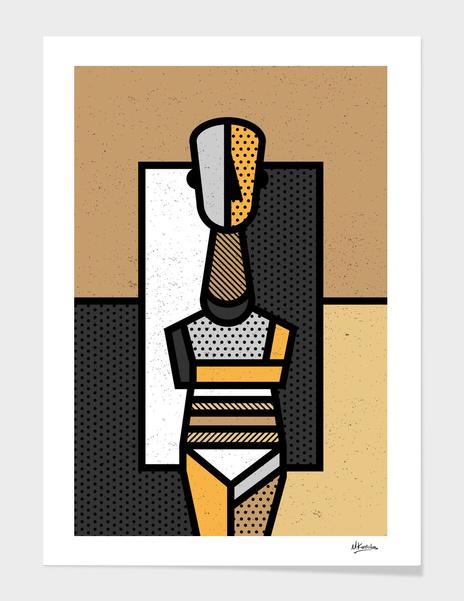 Cycladic Figurine 02 main illustration