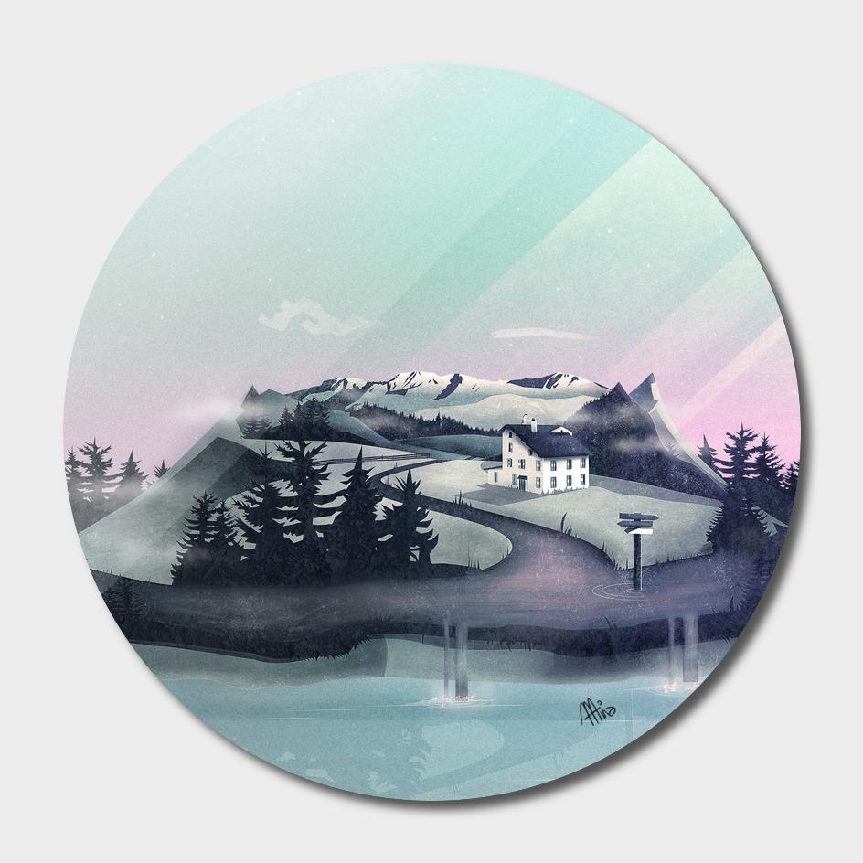 Alpine Island main illustration