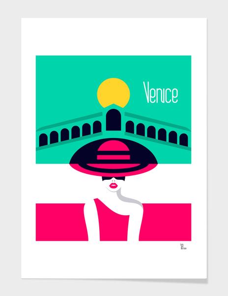 Stylish Journey - Venice main illustration