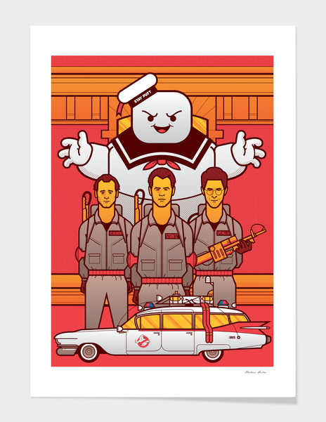 Ghostbusters main illustration