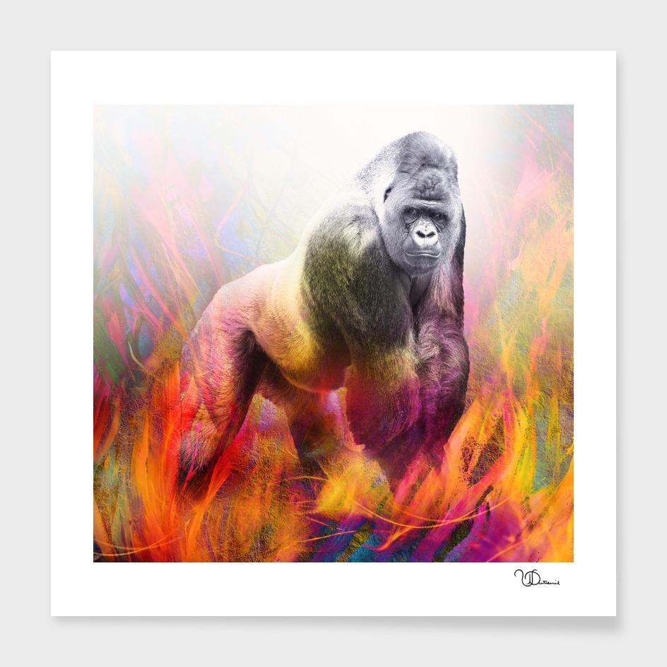 The power of the gorilla main illustration