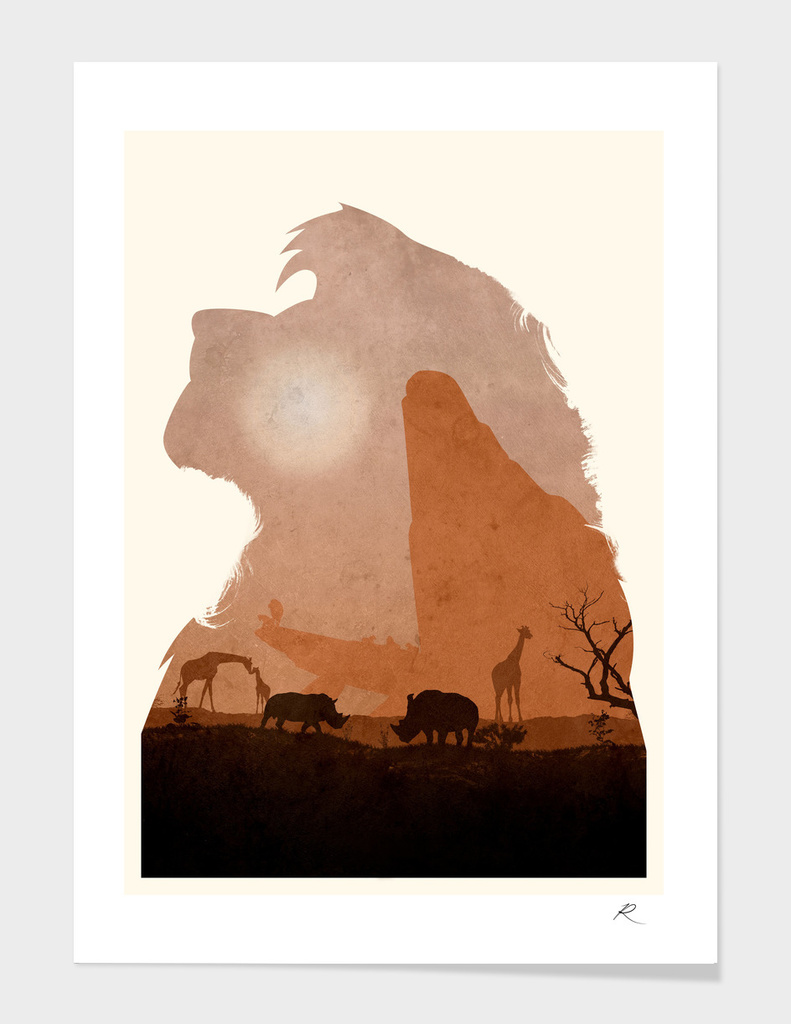 The Lion King (Textless Edition) main illustration