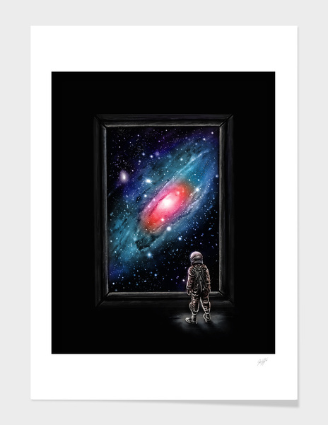 Looking Through a Masterpiece main illustration