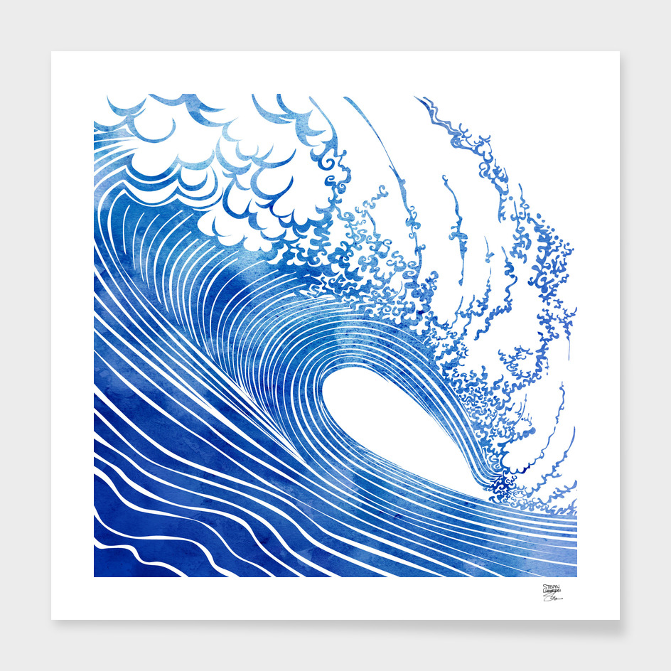 BLUE WAVE main illustration