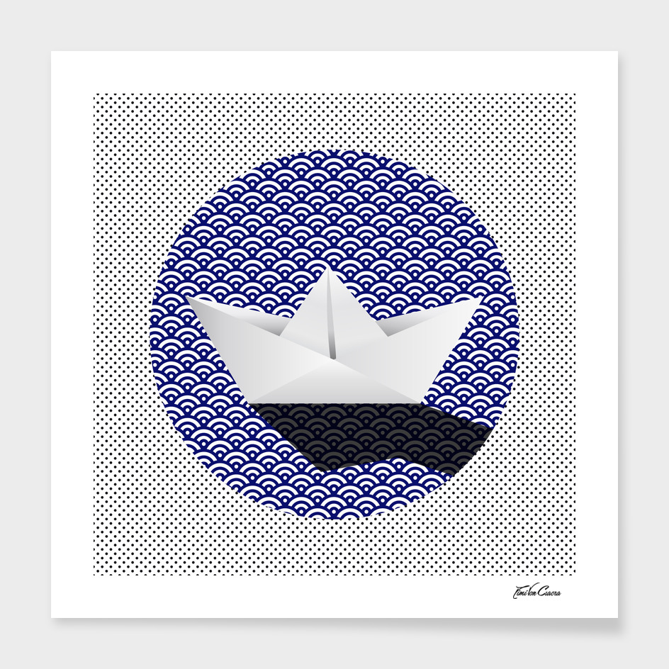 bateau pattern main illustration