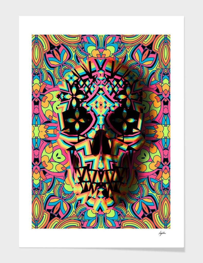 Skull Geo main illustration