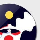 Disk Print illustration