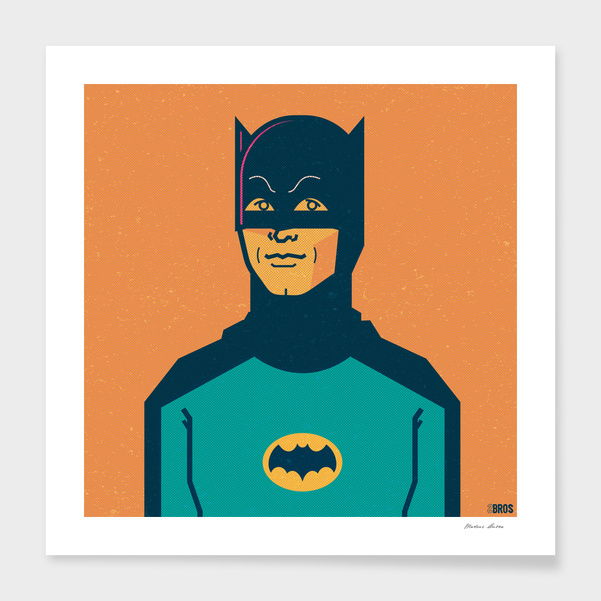 Batman main illustration