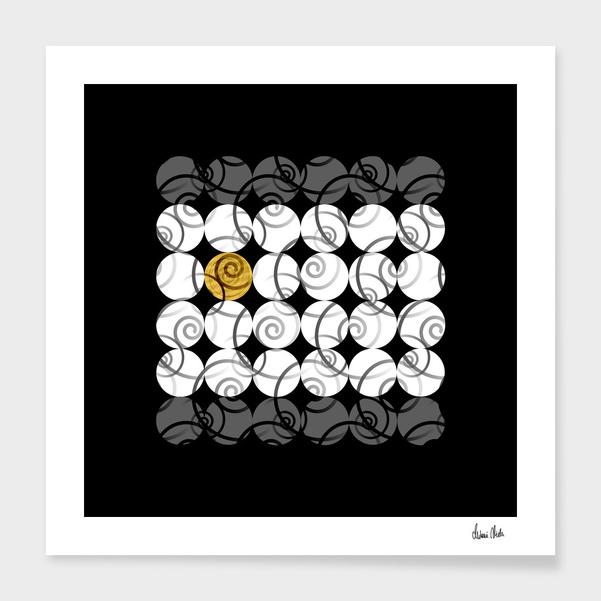Abstract Circles | odd one out no. 1 main illustration
