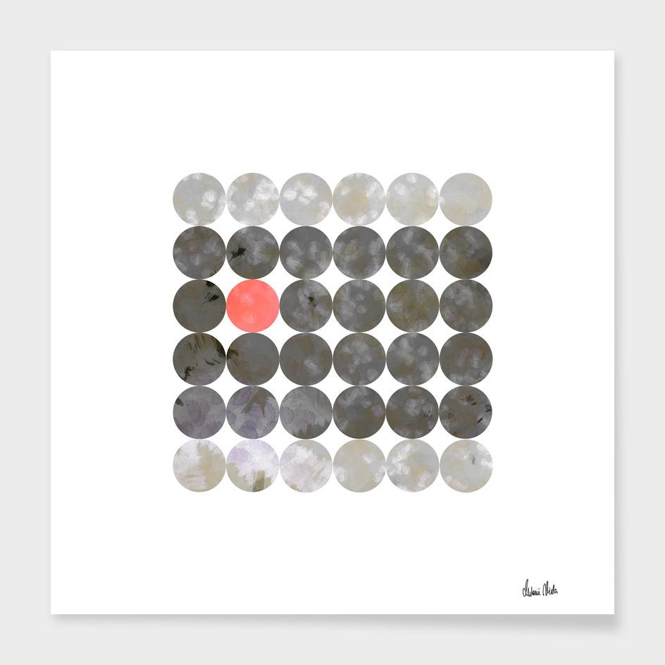 Abstract Circles | odd one out no. 2 main illustration
