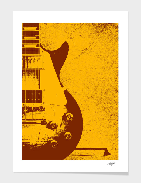 Gibson Les Paul - Jimmy Page main illustration
