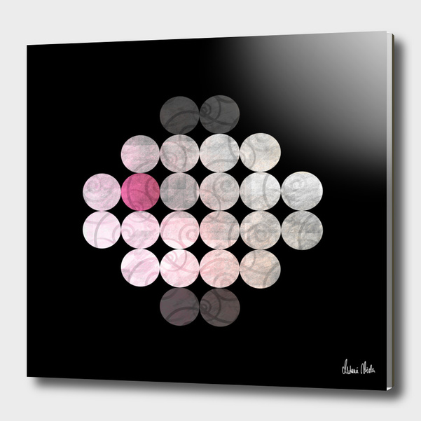 Abstract Circles | odd one out no. 3 main illustration