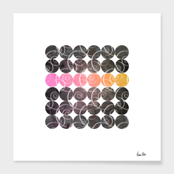 Abstract Circles | spiral pattern no. 2 main illustration