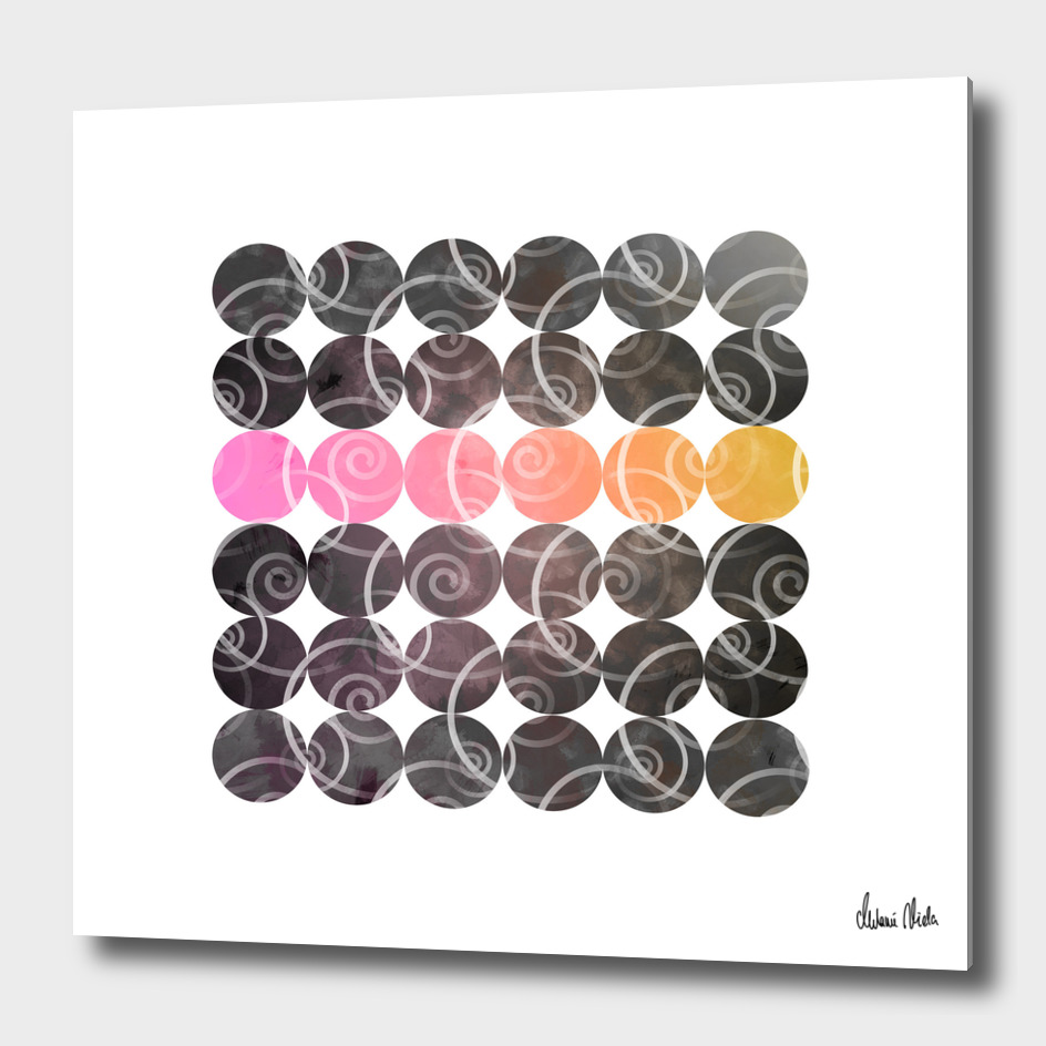 Abstract Circles | spiral pattern no. 2 main illustration