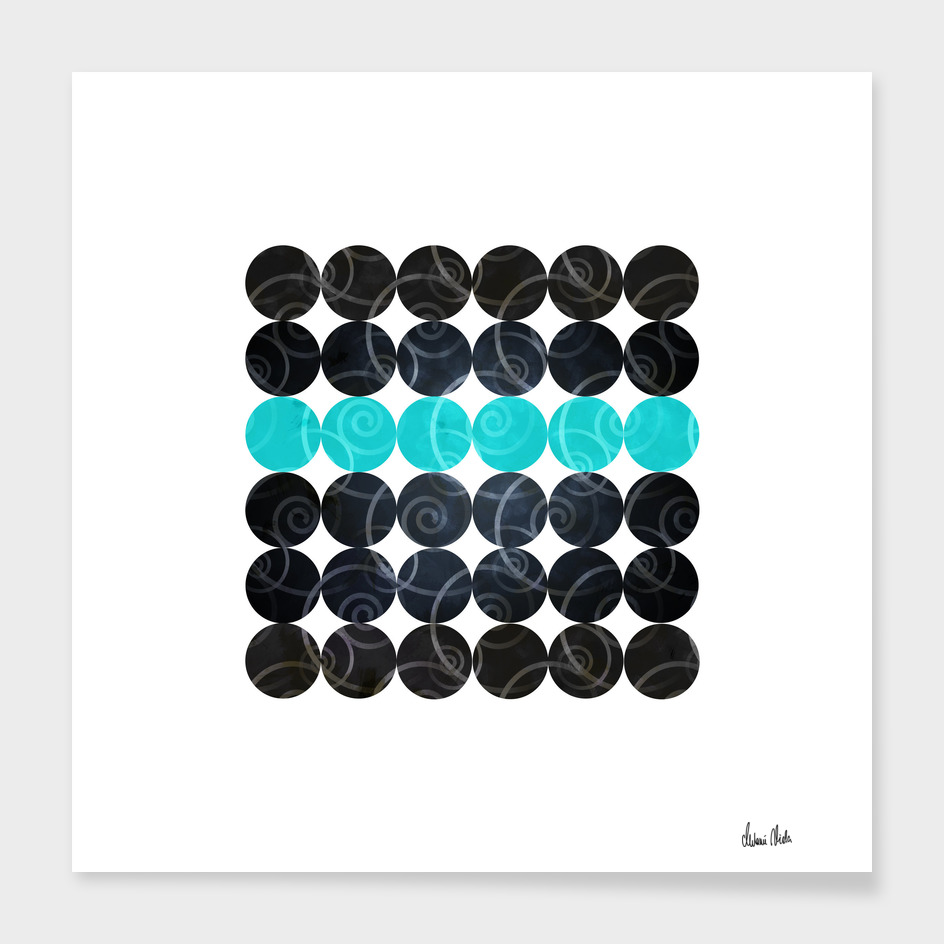 Abstract Circles | spiral pattern no. 3 main illustration