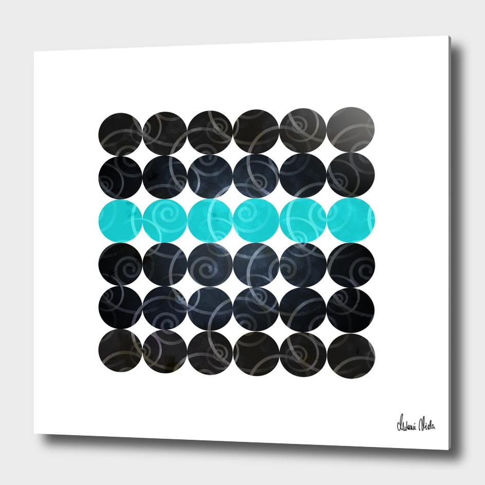 Abstract Circles | spiral pattern no. 3