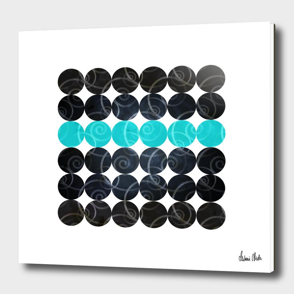 Abstract Circles | spiral pattern no. 3 main illustration