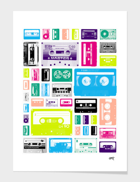 Mix Tapes main illustration