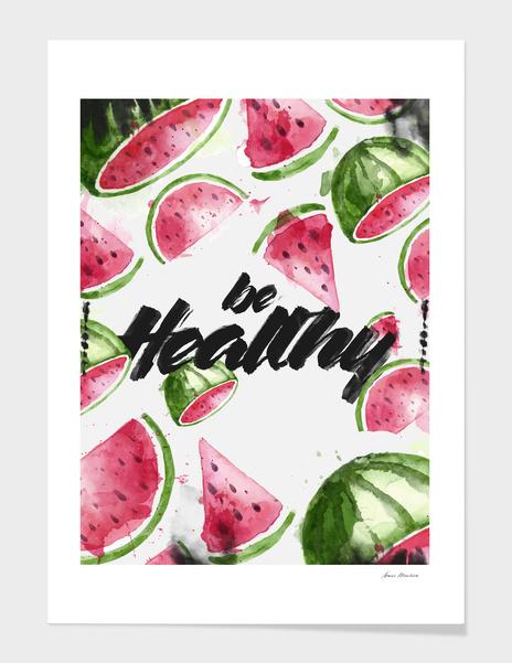 be Healthy main illustration