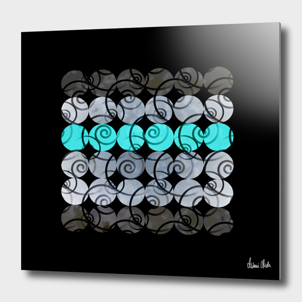 Abstract Circles | spiral pattern no. 4 main illustration
