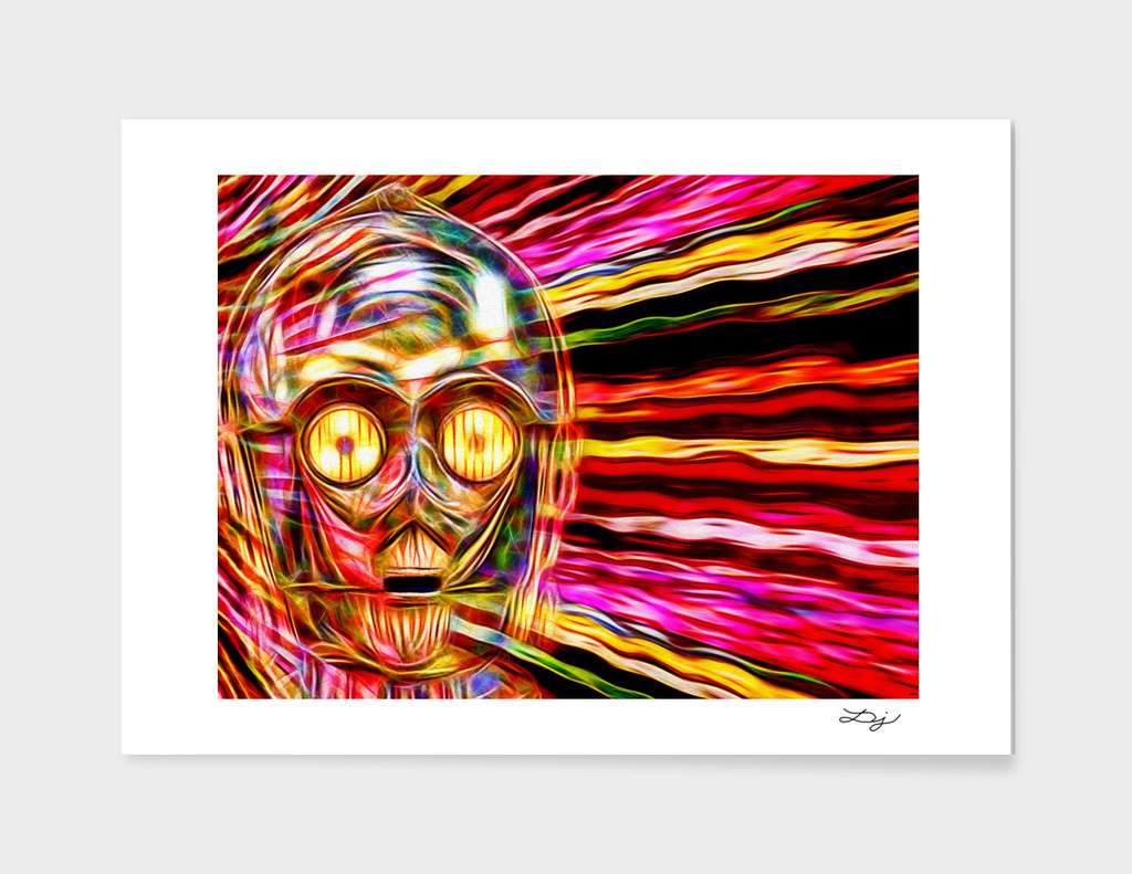 C-3 PO in Color