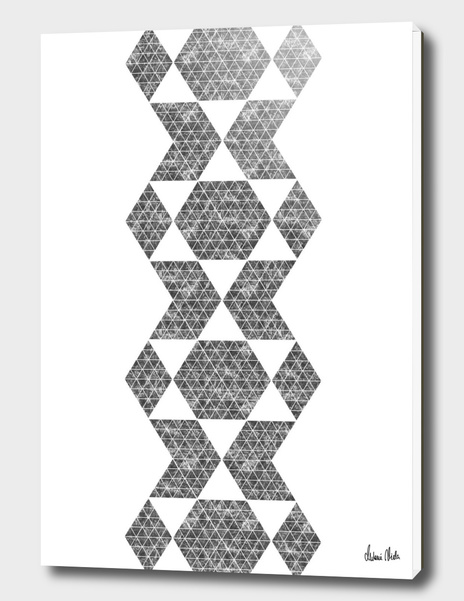 Abstract Geometric   retro style no. 5 main illustration