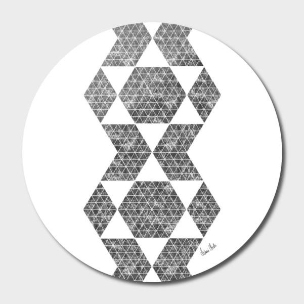 Abstract Geometric | retro style no. 5 main illustration