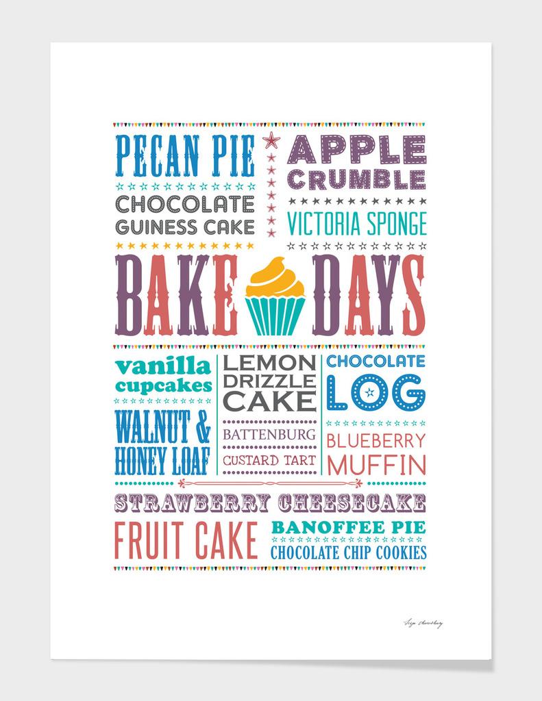 Bake Days main illustration