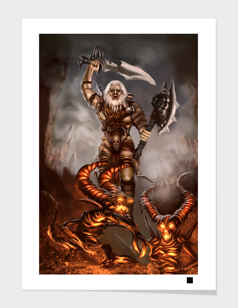 Barbarian main illustration