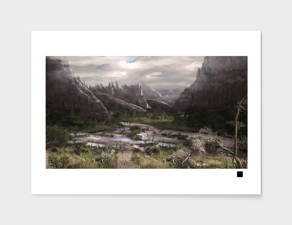 Alternate World Landscape main illustration