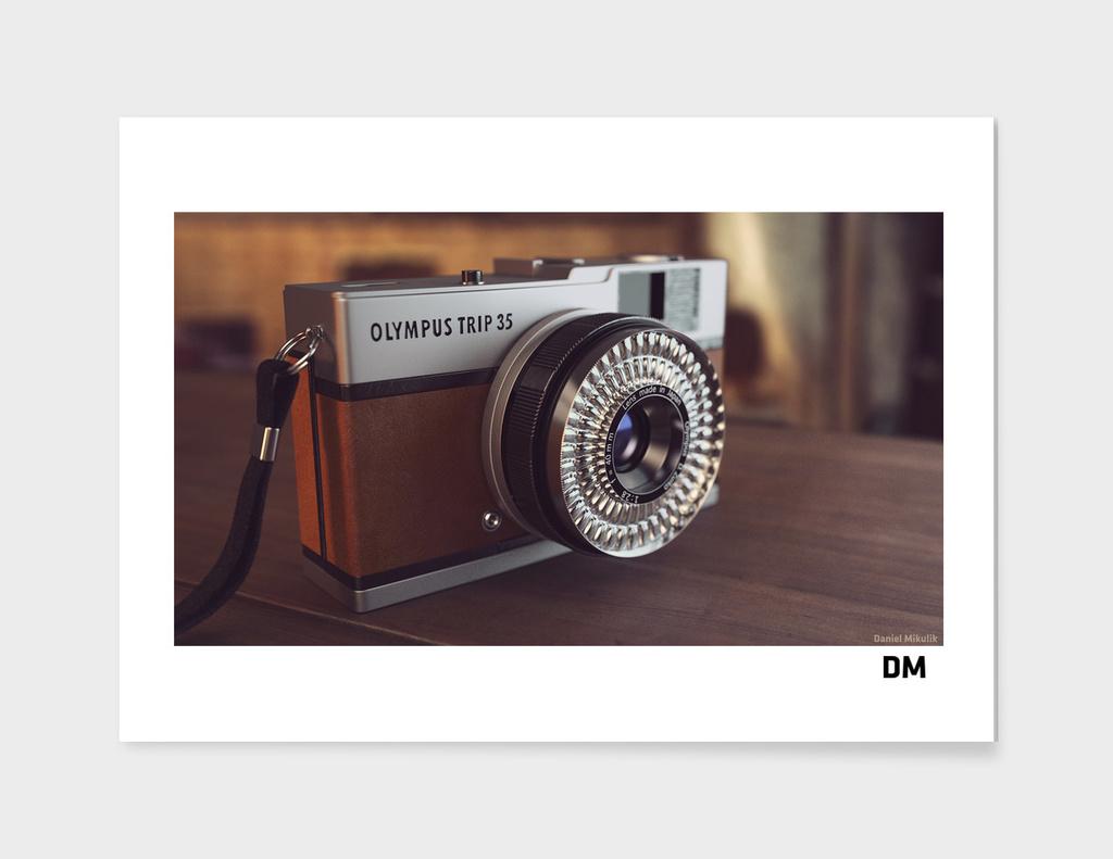 Olympys Camera main illustration