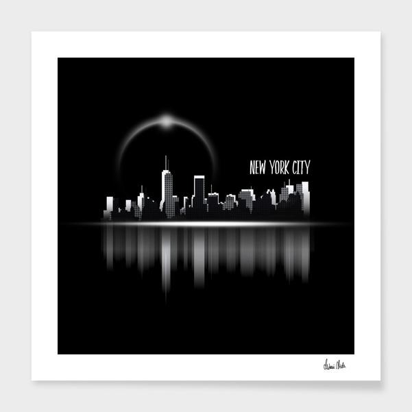 Graphic Art | A Dream of New York City no. 1 main illustration