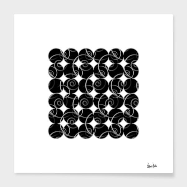 Abstract Circles | spiral pattern no. 8 main illustration