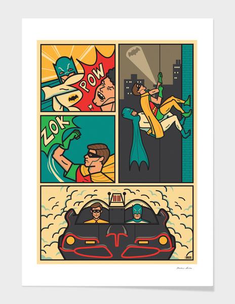 Batman & Robin main illustration