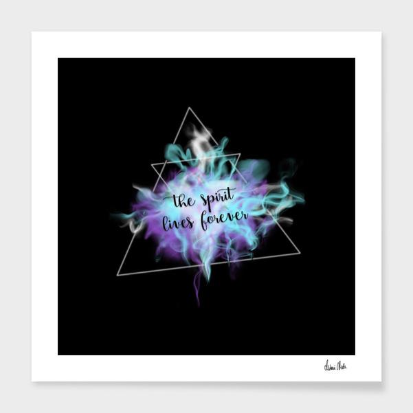 Trendy Phrases | the spirit lives forever no. 3 main illustration