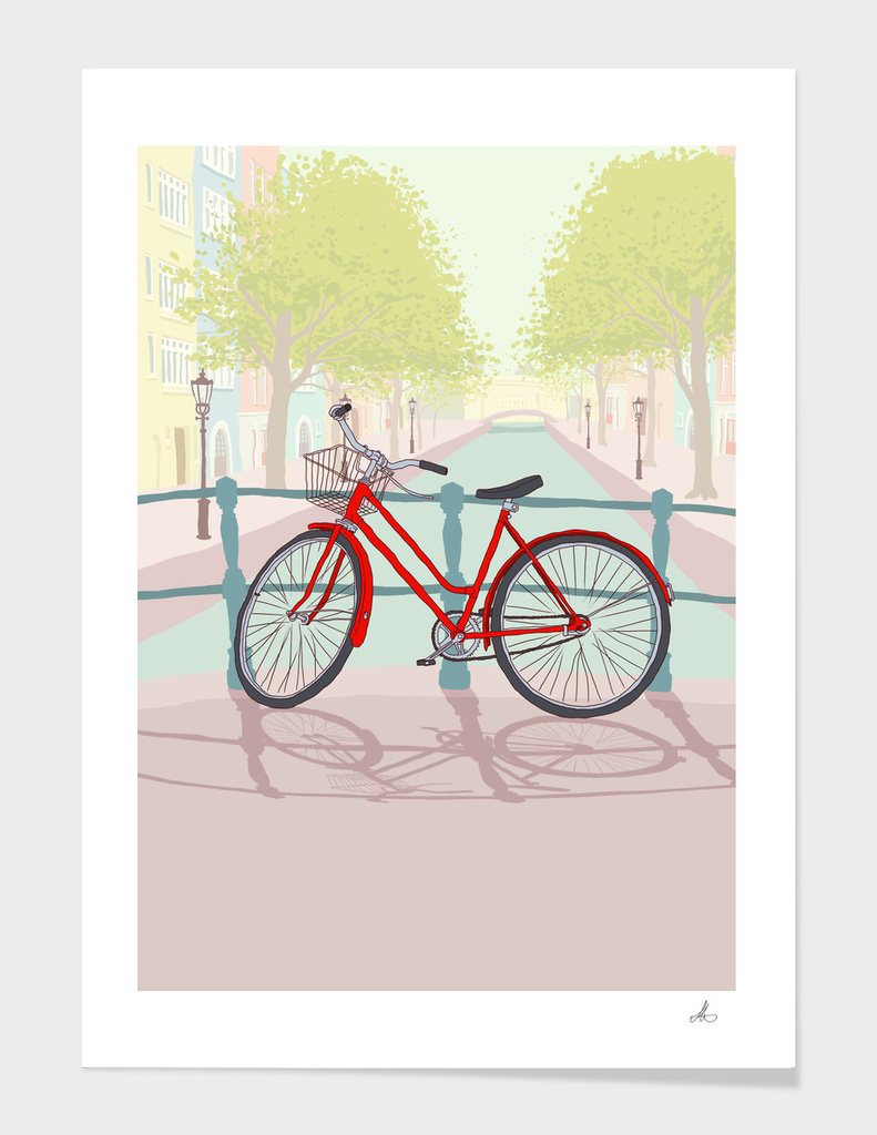 Amsterdam Bike main illustration