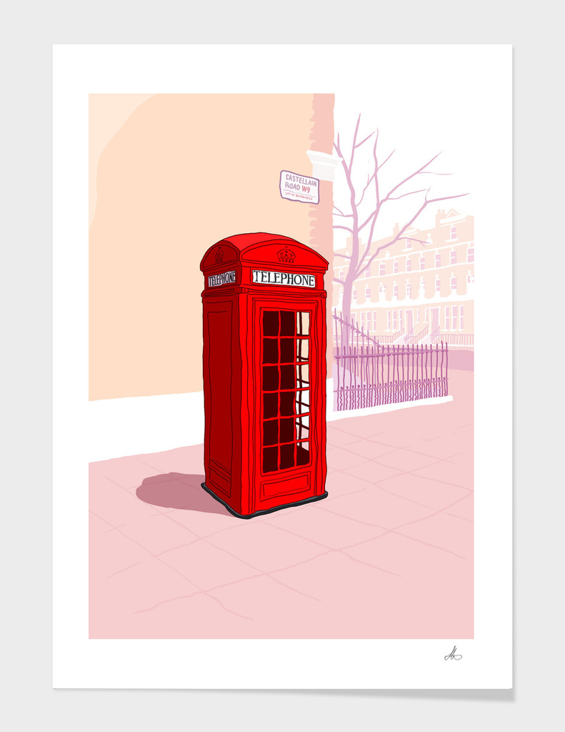 London Telephone Box main illustration